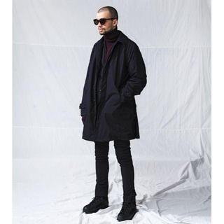 ノンネイティブ(nonnative)の新品 19aw Nonnative - Scholar Coat Black 1(ステンカラーコート)