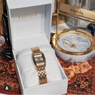 rienda - rienda  ノベルティ 腕時計