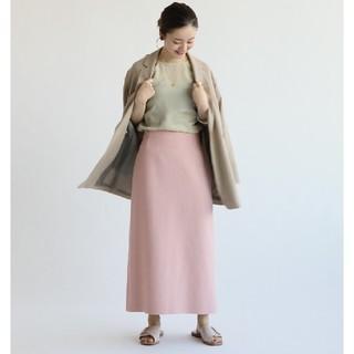 イエナ(IENA)のIENA【イエナ】☆ライトツイードスカート 新品ピンク36(その他)