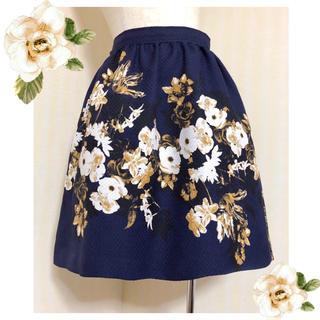 KATHARINE ROSS - キャサリンロス ❁ フラワースカート ❁ 日本製