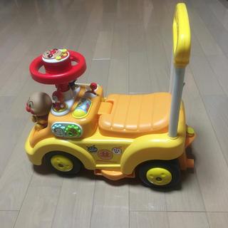 アガツマ(Agatsuma)のアンパンマン よくばりビジーカー(手押し車/カタカタ)