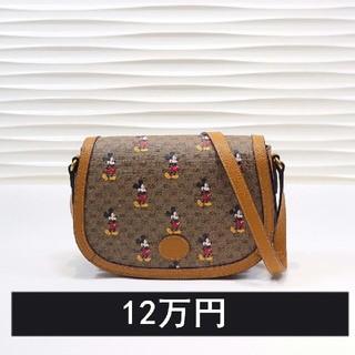 Gucci - GUCCI新しいミッキー未使用のハンドバッグ602694