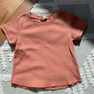 futafuta - フタフタ 半袖 ワッフル Tシャツ 110cm