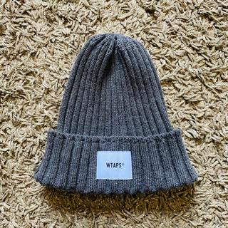W)taps - Wtaps BEANIE 01 WOAC GRAY ニットキャップ ニット帽 灰