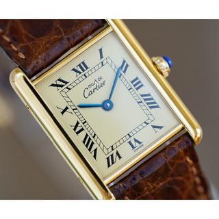 Cartier - 美品 カルティエ マスト タンク アイボリー LM Cartier