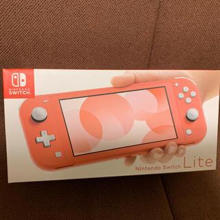 Nintendo Switch - Nintendo Switch  LITEコーラル 任天堂スイッチライト
