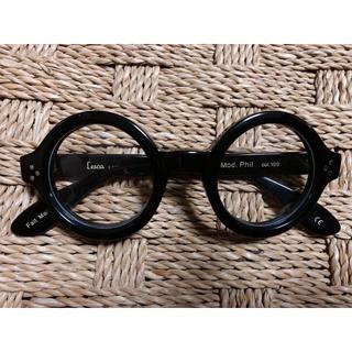 アヤメ(Ayame)の3DOTS LESCA Mod. Phil 8mm ブラック レスカ(サングラス/メガネ)