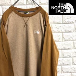 THE NORTH FACE - *ノースフェイス*ロングTシャツ*A-5シリーズ*刺繍ロゴ*Lサイズ*