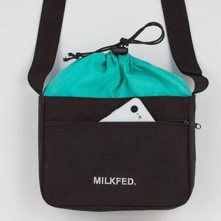 MILKFED. - MILKFED. 外ポケット付きショルダーバッグ