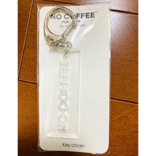 フラグメント(FRAGMENT)のNO COFFEE×HARE コラボ アクリル製 キーホルダー クリア一点 新品(キーホルダー)