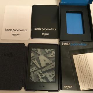 アップル(Apple)のKindle Paperwhite 第7世代 WiFi  4GBブラック広告つき(電子ブックリーダー)