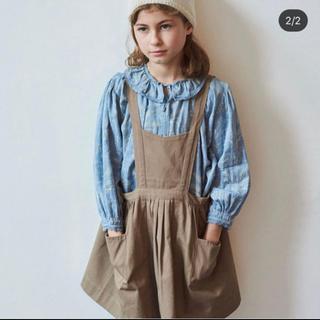 キャラメルベビー&チャイルド(Caramel baby&child )のcaramel エプロンドレス 美品 4a(スカート)