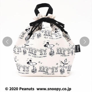 AfternoonTea - アフタヌーンティー スヌーピー PEANUTS 巾着ランチバッグ