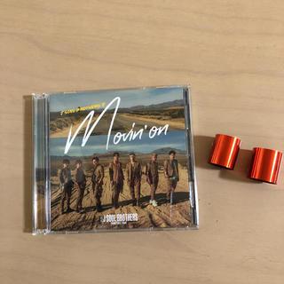 三代目CD+DVD Movin'on 臣隆銀テープ2本