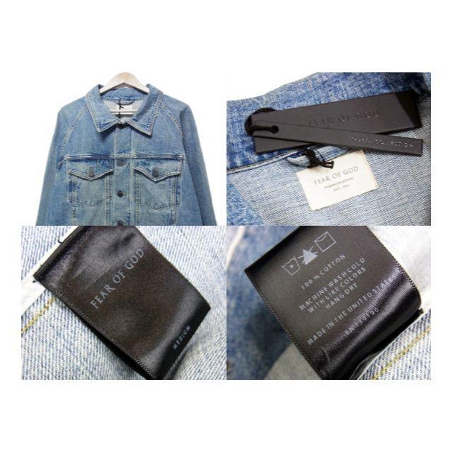 FEAR OF GOD(フィアオブゴッド)のフィアオブゴッド■4th collectionトラッカーデニムジャケット メンズのジャケット/アウター(Gジャン/デニムジャケット)の商品写真