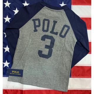 POLO RALPH LAUREN - ★SALE ★ラルフローレン長袖デザインTシャツ4T/110