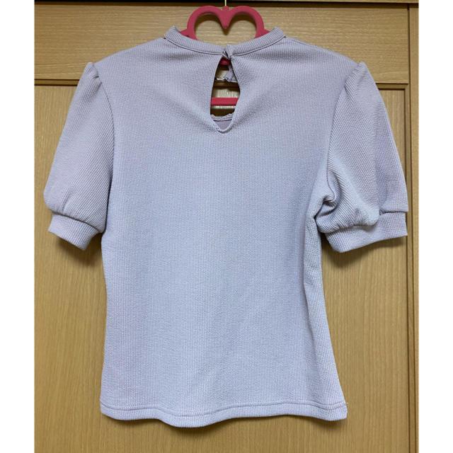 EATME(イートミー)のEATME♡クロスネックトップス レディースのトップス(カットソー(半袖/袖なし))の商品写真