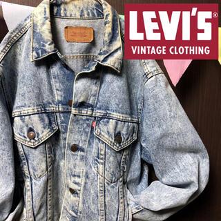 Levi's - 【Made in USA】色落ち良 リーバイス デニムジャケット Gジャン