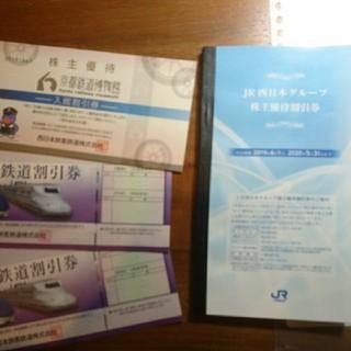JR西日本 株主 優待券 2枚セット
