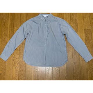 パーソンズ(PERSON'S)のスタンドカラーシャツ 新品同様 5/17最終値下げ 1300→800(シャツ/ブラウス(長袖/七分))