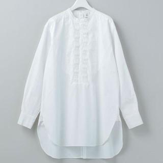 BEAUTY&YOUTH UNITED ARROWS - roku 6 beauty&youth ピンタックシャツ ホワイト 36