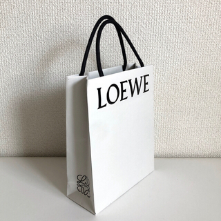 LOEWE - ロエベ ショッパー 白 1枚 紙袋 ホワイト ショップ袋 LOEWE 新品 美品