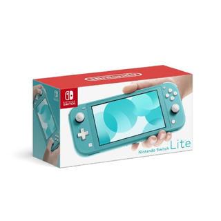 ニンテンドースイッチ(Nintendo Switch)の「Nintendo Switch  Lite ターコイズ」(家庭用ゲーム機本体)
