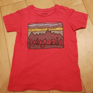 patagonia - Patagoniaパタゴニア キッズロゴTシャツSize4T