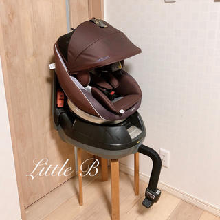 combi - コンビ*ネルーム*新生児対応/フード付き回転式チャイルドシート*