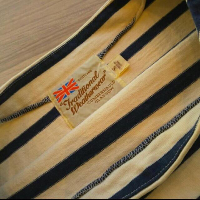 DEUXIEME CLASSE(ドゥーズィエムクラス)のTraditional Weatherwear ボーダーカットソー レディースのトップス(カットソー(長袖/七分))の商品写真