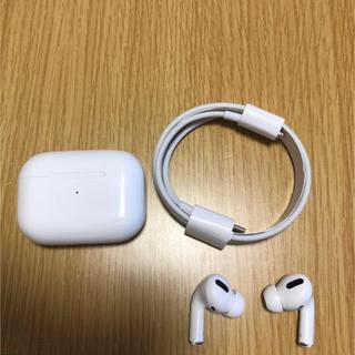 air pods pro? エアーポッツプロ? Apple(ヘッドフォン/イヤフォン)