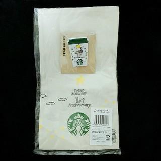 Starbucks Coffee - 【新品】スターバックスコーヒージャーニーギフトバッグ&クリップ