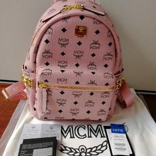 エムシーエム(MCM)のmcmバックリュック ピンク s(リュック/バックパック)