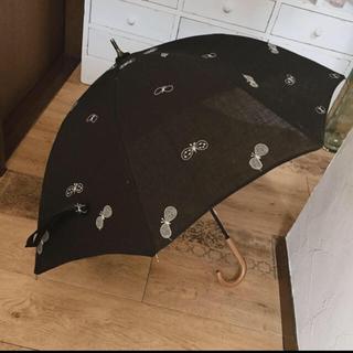 ミナペルホネン(mina perhonen)のミナペルホネン 日傘 ちょうちょ ハンドメイド(傘)