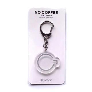 フラグメント(FRAGMENT)のNO COFFEE アイコンリフレクター キーホルダー クリア 一点 新品(キーホルダー)