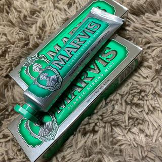 マービス(MARVIS)のマービス ストロングミント 歯磨き粉(歯磨き粉)