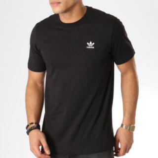 adidas - 【新品】アディダスオリジナルス Tシャツ サイズL   ブラック 刺繍ロゴ