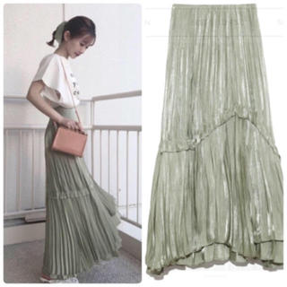 snidel - 正規品🌷新作新品🍀スナイデル シャイニープリーツスカート
