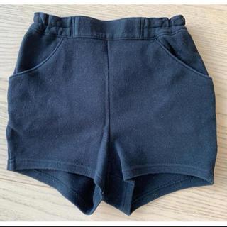 ファミリア(familiar)の【familiar】ネイビー半ズボン 90cm(パンツ/スパッツ)