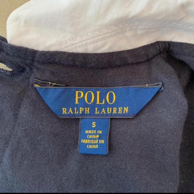 POLO RALPH LAUREN(ポロラルフローレン)のラルフローレン ワンピース 5歳 キッズ/ベビー/マタニティのキッズ服女の子用(90cm~)(ワンピース)の商品写真