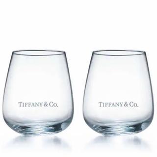 Tiffany & Co. - 【新品未使用】TIFFANY&CO.  ティファニー ペアグラス タンブラー