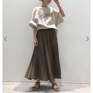 L'Appartement DEUXIEME CLASSE - タグ付新品未使用★プリーツスカート