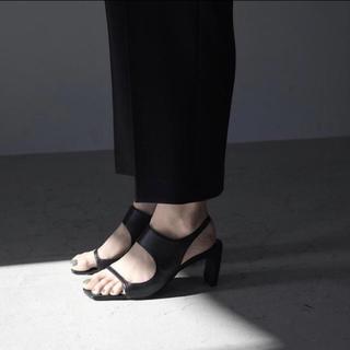 新品☆RIM.ARK/リムアーク スクエアオープン サンダル L☆クラネ SLY