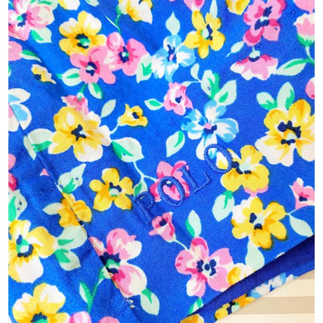 Ralph Lauren(ラルフローレン)の新品 ラルフローレン ワンピース 花柄 100センチ キッズ/ベビー/マタニティのキッズ服女の子用(90cm~)(ワンピース)の商品写真