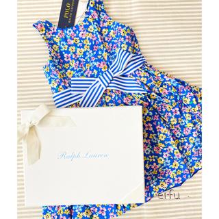 Ralph Lauren - 新品 ラルフローレン ワンピース 花柄 100センチ