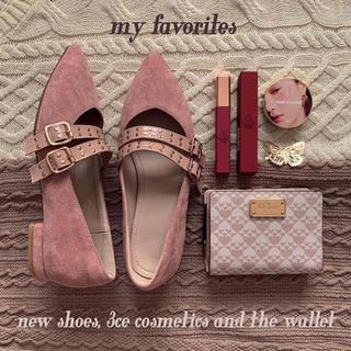 ZARA - ♡ pink flat shoes ♡