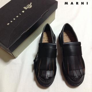 Marni - 新品■40■MARNI■DR.MARTEN■日本未発売■ローファー■8200