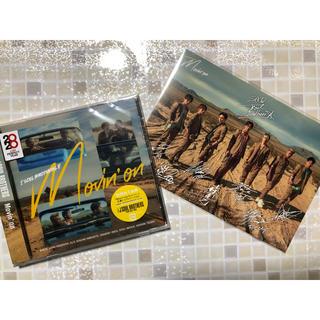 三代目 J Soul Brothers - Movin' on 三代目 CD 全員 2Lサイズカード付き