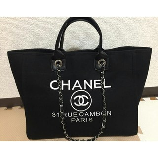 CHANEL - 【非売品】CHANEL 海外ノベルティ トートバッグ 大容量 新品