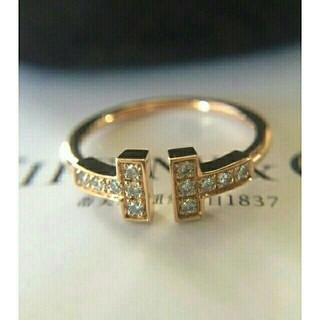 Tiffany & Co. - ティファニー ダイヤ Tワイヤー リング Tiffany & Co. 12
